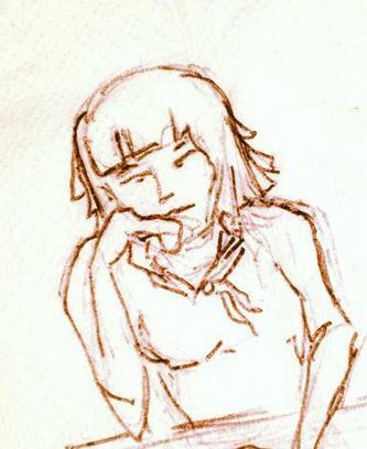 Insecurity Girl - Illustration by Dana Leavy-Detrick - Aspyre Design